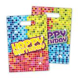 "Geschenk-Tütchen ""Happy Crazy Birthday"" 6er Pack"