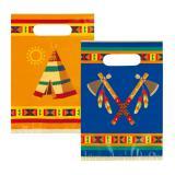 """Geschenk-Tütchen """"Indianerleben"""" 6er Pack"""