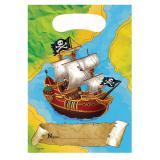 """Geschenk-Tütchen """"Piraten-Reise"""" 8er Pack"""