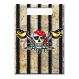"""Geschenk-Tütchen """"Wilde Piraten"""" 8er Pack"""