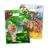"""Geschenk-Tüten """"Wildes Safarileben"""" 8er Pack"""