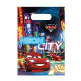 "Geschenk-Tütchen ""Cars Neon City"" 6er Pack"