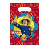 """Geschenktütchen """"Mutiger Feuerwehrmann Sam"""" 8er Pack"""