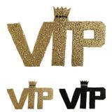 "Glitzer Schriftzug ""VIP - Very Important Party"" 22 cm"