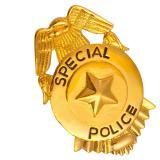"""Goldene Brosche """"Police"""""""
