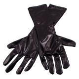 """Handschuhe """"Edler Glanz"""" 40 cm-schwarz"""