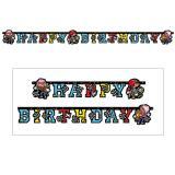 """Happy Birthday-Girlande """"Kleiner Pirat"""" 180 cm"""