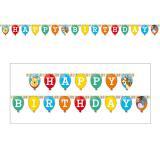 """Happy Birthday-Girlande """"Winnie Puuh und Freunde"""" 240 cm"""