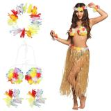 "Hawaii-Kostüm ""Hula-Schönheit"" 6-tlg."