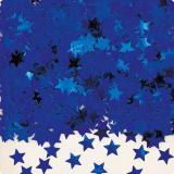 "Konfetti ""Einfarbige Sternchen"" 14 g-blau"