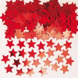 """Konfetti """"Einfarbige Sternchen"""" 14 g-rot"""