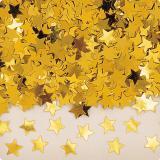 """Konfetti """"Einfarbige Sternchen"""" 14 g-gold"""