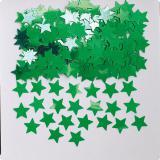 """Konfetti """"Einfarbige Sternchen"""" 14 g-grün"""