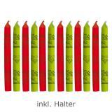 """Kerzen für den Geburtstag """"Rasante Cars"""" 12er Pack"""