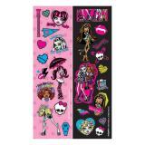 """Kleine Aufkleber """"Monster High Girls"""" 8er Pack"""