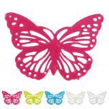Kleine metallische Schmetterlinge 6er Pack