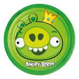 "Kleine Pappteller ""Angry Birds"" 8er Pack"