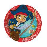 """Kleine Pappteller """"Captain Jake & die Nimmerland Piraten"""" 8er Pack"""