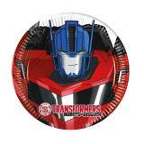"""Kleine Pappteller """"Coole Transformers"""" 8er Pack"""