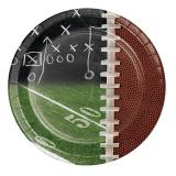 Kleine Pappteller Football 8er Pack