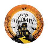 """Kleine Pappteller """"Happy Halloween"""" 8er Pack"""