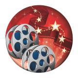 """Kleine Pappteller  """"Hollywood Lights"""" 8er Pack"""