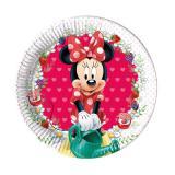 """Kleine Pappteller """"Süße Minnie Maus"""" 8er Pack"""