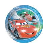 """Kleine Pappteller """"Aufregende Cars"""" 8er Pack"""