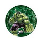 """Kleine Pappteller """"Avengers Assemble"""" 8er Pack"""