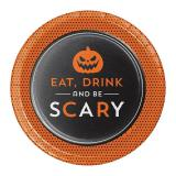 "Kleine Pappteller ""Scary Halloween"" 8er Pack"