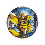"Kleiner Pappteller ""Transformers - Bumblebee"" 8er Pack"