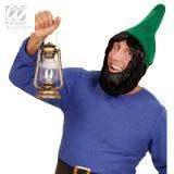 Kobold-Hut mit Bart-grün