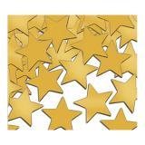 """Konfetti """"Einfarbige Sterne"""" 28 g-gold"""