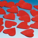 Konfetti rote Herzen 50 g