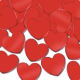 Konfetti Rote Herzform 28 g