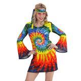 "Kostüm ""Batik Hippie Girl"" 2-tlg."