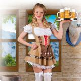 """Kostüm Dirndl """"Bayrisches Mädchen"""" 2-tlg."""