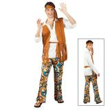 Kostüm Hippie-Man Deluxe 4-tlg.