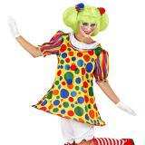 """Damen-Kostüm """"Verrückter Clown"""" 4-tlg."""