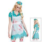 "Kostüm ""Blutverschmierte Krankenschwester"" 3-tlg."
