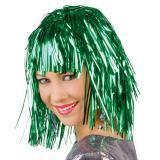 Lametta-Perücke-grün