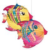 Laterne Kugelfisch 32 cm