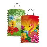 """Laterne """"Aloha und Flamingo"""" 2er Pack"""