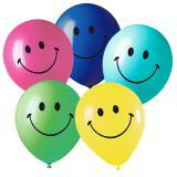 """Luftballons """"Smiley"""" 5er Pack"""