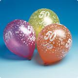 Luftballons 50. Geburtstag 5er Pack