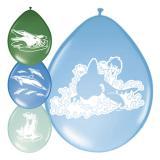 """Luftballons """"Delfine und Freunde"""" 30 cm 8-tlg"""
