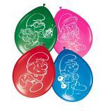 """Luftballons """"Die lustigen Schlümpfe"""" 8er Pack"""