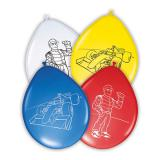 """Luftballons """"Schnelle Rennwagen"""" 8er Pack"""