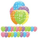 "Luftballons ""Bunte Geburtstagsparty"" 6er Pack"
