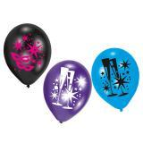 """Luftballons """"Silvester"""" 6er Pack"""